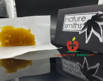 Tangerine Dream Rosin by Nature Smiths