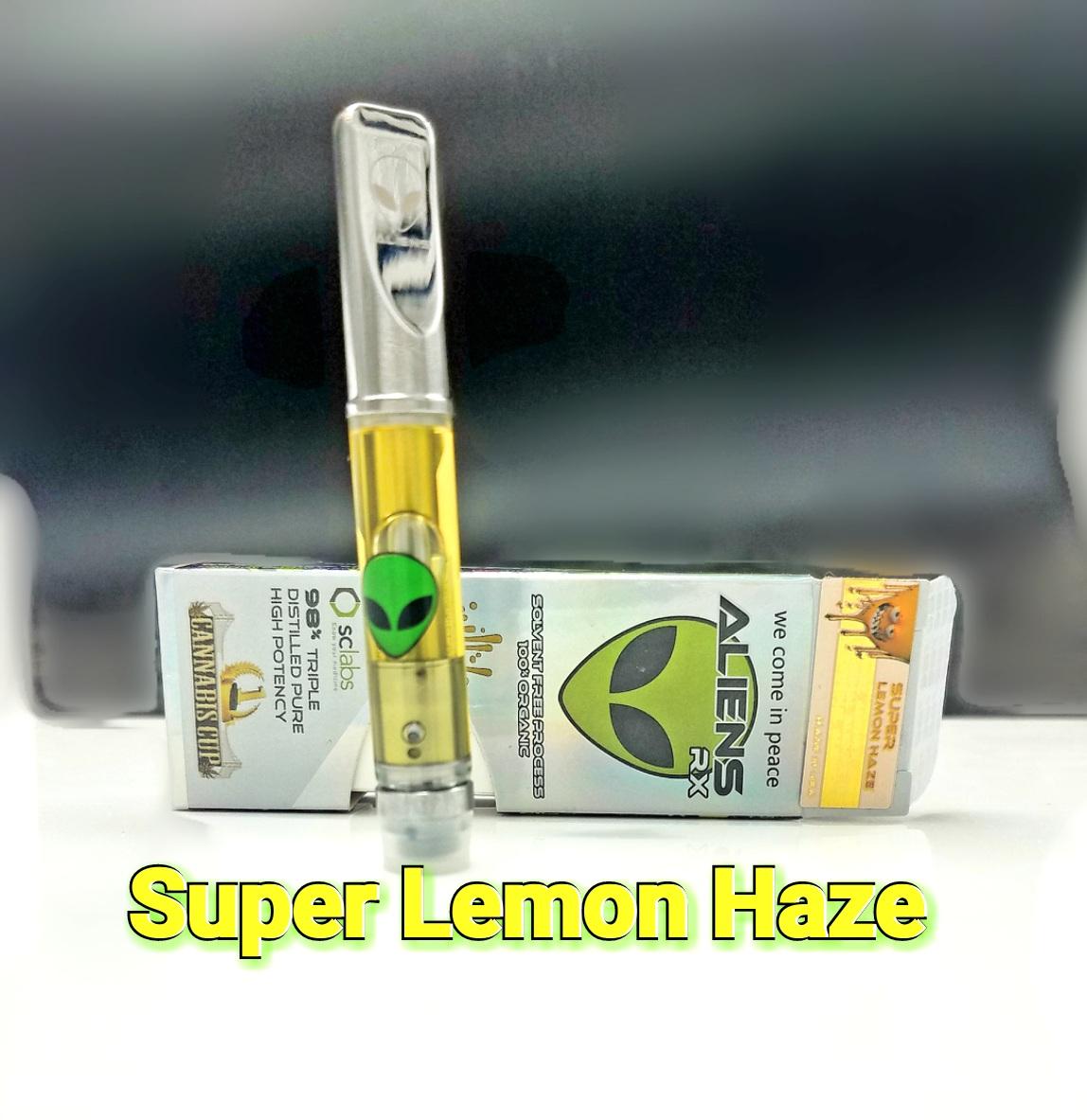 AliensRX Super Lemon Haze - 1800 MG