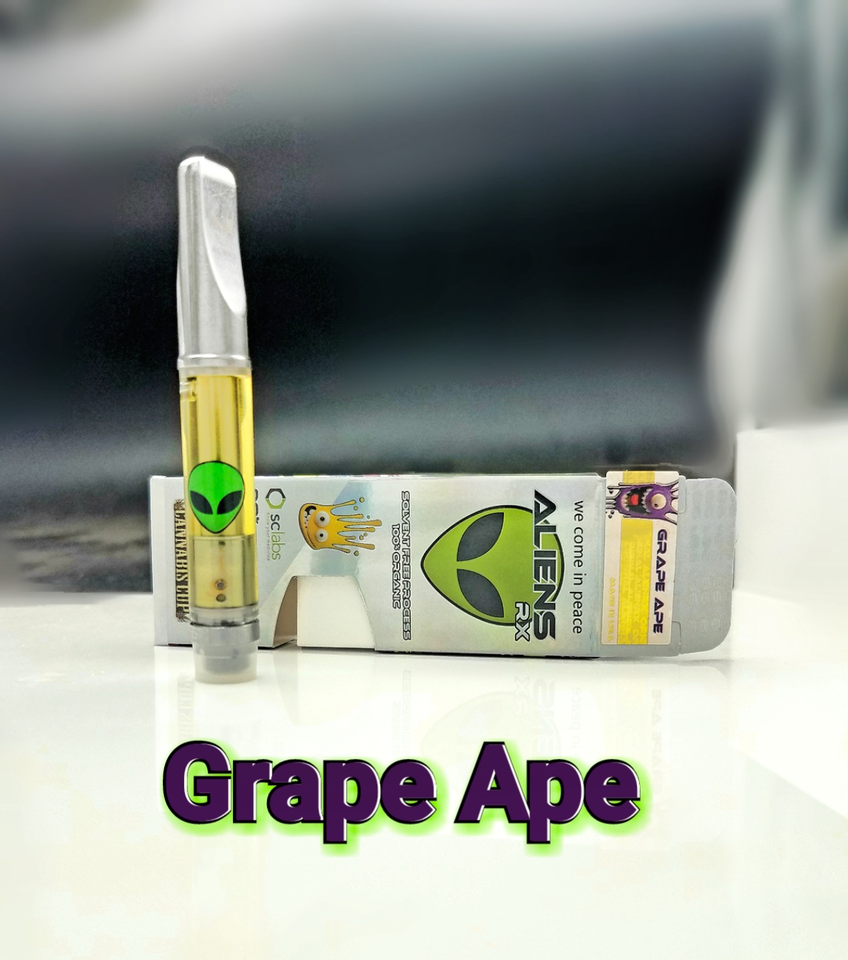 AliensRX Grape Ape - 1800 MG